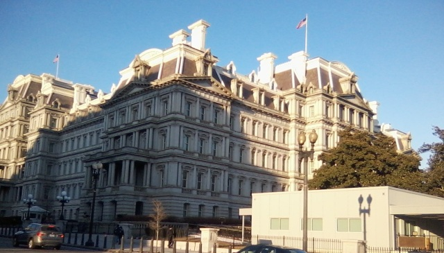 Eisenhower Executive office Bldg (next to WH)